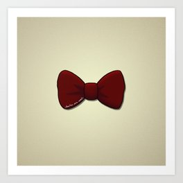 bowties are cool. Art Print