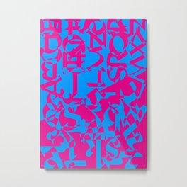 Contradiction Metal Print