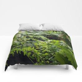 Green art by Jonathan Larson Comforters