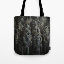 Terra-cotta Warriors of Xian China Tote Bag