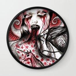 Luce And Unicorn Wall Clock