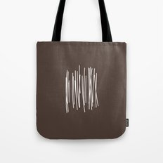 Wood in Brown - Minimalist Feng Shui - by Friztin Tote Bag