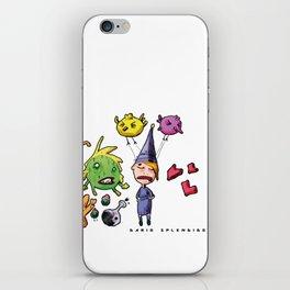 Doodle - Dario Splendido iPhone Skin