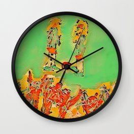 Ball to the center Wall Clock