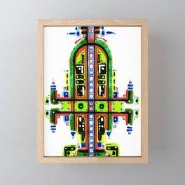 Green Reminder 1 Framed Mini Art Print