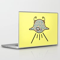 ufo Laptop & iPad Skins featuring UFO by Joe Pansa