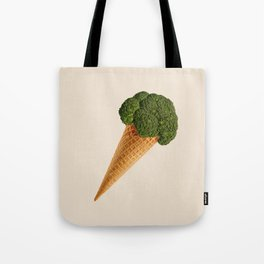 broccoli ice cream Tote Bag