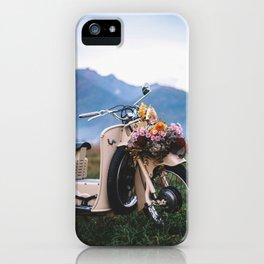 Moto Guzzi indie tribute iPhone Case