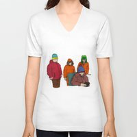 colorado V-neck T-shirts featuring Colorado by Benk