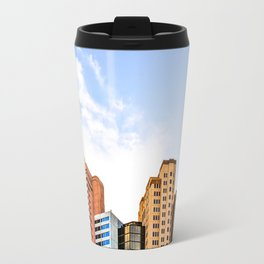 buildings of the New York New York hotel at Las Vegas, USA Travel Mug