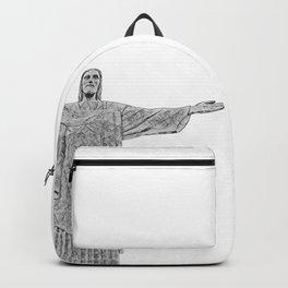 Christ Redeemer Rio de Janeiro - Art Backpack