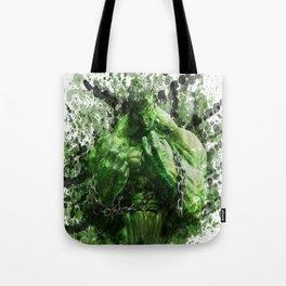 Green Hero Tote Bag