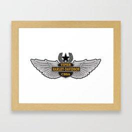 Viper Harley Breedlove Framed Art Print
