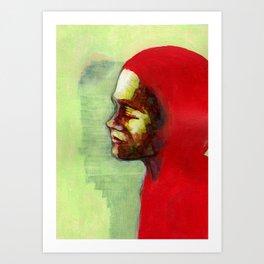 Nos étrangers 18 Art Print