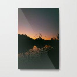 Last Remaining Light (Holme Fen) Metal Print