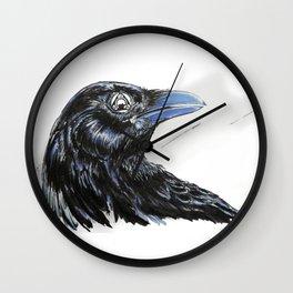 RHX Raven Logo Wall Clock