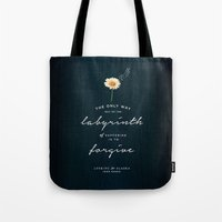 looking for alaska Tote Bags featuring Looking for Alaska by thatfandomshop