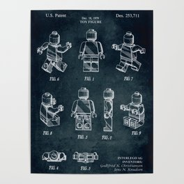 1979 - Toy figure Poster