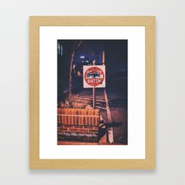 Need it Framed Art Print
