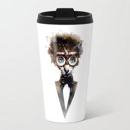 Steampunk Cat Travel Mug