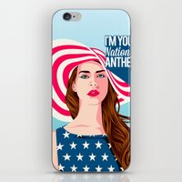 the national iPhone & iPod Skins featuring National Anthem by Stan Pro