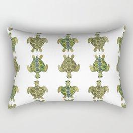 Wise Sea Turtle Rectangular Pillow