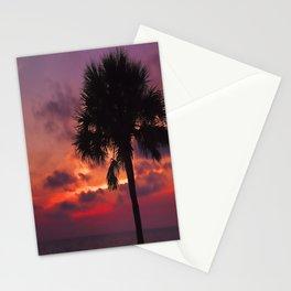 Romantic Breezy Sunset Stationery Cards