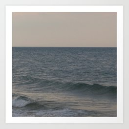 Breakers // Lake Michigan Waves Photography Art Print
