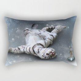 Tiger and Rabbit Rectangular Pillow