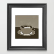GOOD MORNING 05 Framed Art Print