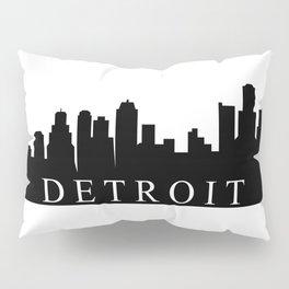 detroit skyline Pillow Sham