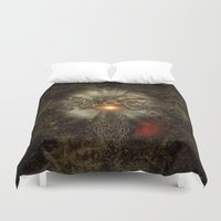 dragon Duvet Covers featuring Dragon by nicky2342