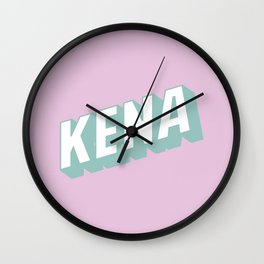 KENA Wall Clock