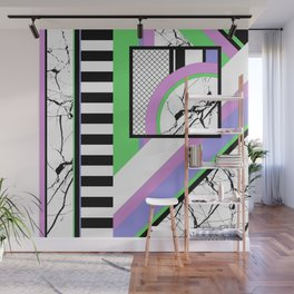 AMPS Deux - Abstract, Marble, Pastel, Stripes Wall Mural