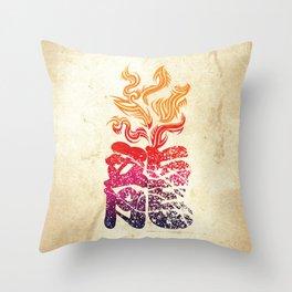Dragon Flame  Throw Pillow