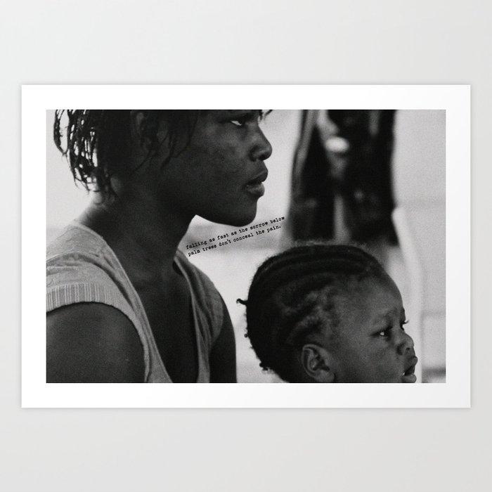 Lyrical Haiti 03 Art Print