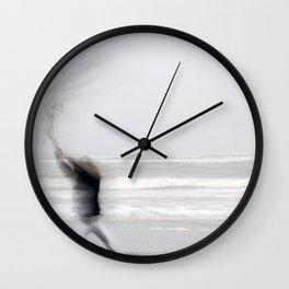 la fille mer Wall Clock