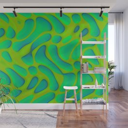 Dropped pattern ... Wall Mural