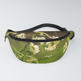 Babies breath at the onset of rain Fanny Pack
