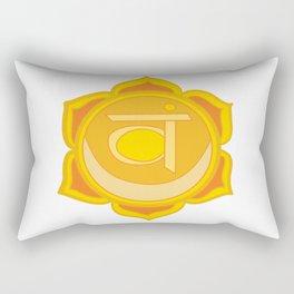 Sacral Chakra Svadhishthana Chakra Rectangular Pillow