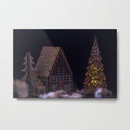 Concept Christmas : The xmas barn Metal Print