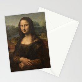 Mona Lisa, Leonardo da Vinci, 1503 Stationery Cards