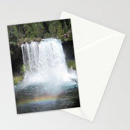 Reflections on Rainbows at Punchbowl Falls Stationery Cards