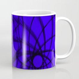 Purple and Black spirals Coffee Mug