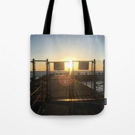 Gated Sunrise Tote Bag