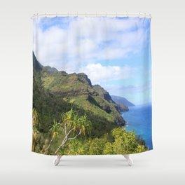 Kalalau Trail Shower Curtain