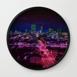 Punk City Wall Clock