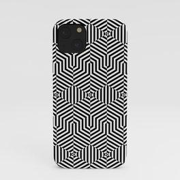Op art hexagon iPhone Case