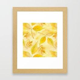 Autumn leaves #13 Framed Art Print