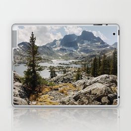Partly Cloudy Afternoon in the Eastern Sierra Laptop & iPad Skin